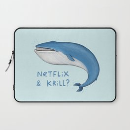 Netflix & Krill Laptop Sleeve