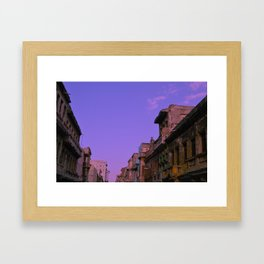 Street art Framed Art Print