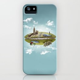 "Merlin- ""Two Sides of the Same Coin"" iPhone Case"