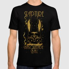 Rapture Masquerade Ball 1959 Black SMALL Mens Fitted Tee Black