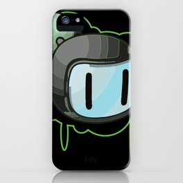 The Green Bomber  iPhone Case