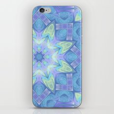 End of Winter Mandala iPhone & iPod Skin