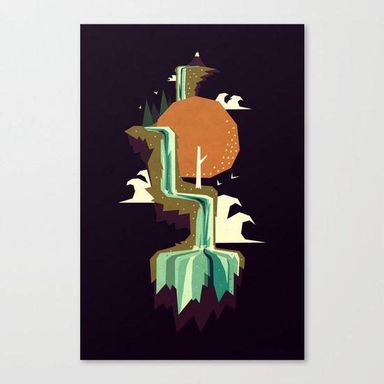 Waterfall dream Canvas Print