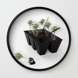 Eco Bulb 6 pack Wall Clock
