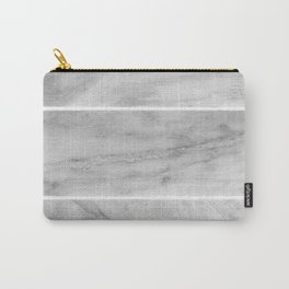 Granite Gray Slabs Carry-All Pouch