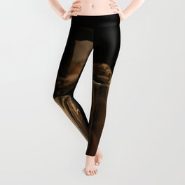 Glasses in Gold Tones Leggings