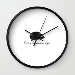 Treachery of Muscolo Wall Clock