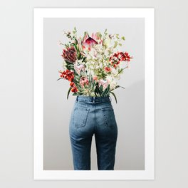 Bottomless Bouquet Art Print
