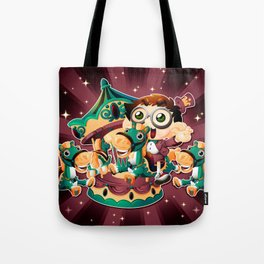 The carousel Tote Bag
