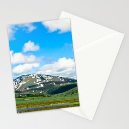 Yellowstone Mountain Stationery Cards