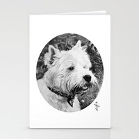 harry Stationery Cards featuring Harry by Jan Szymczuk