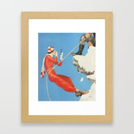 Looking good in the mountains Framed Art Print