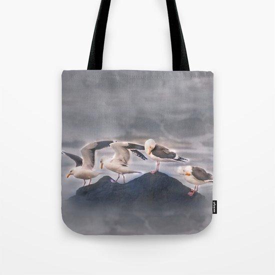 Rock Quartet Tote Bag