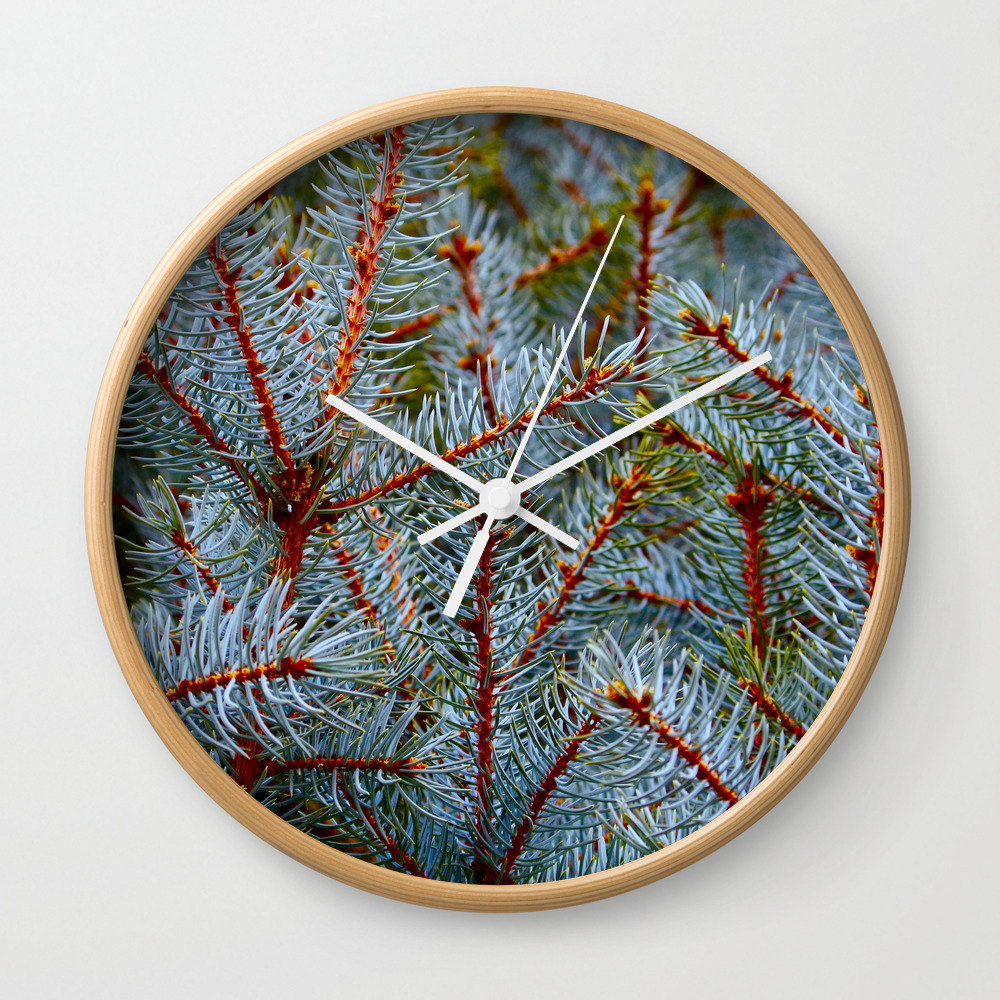 Branching Vibration Wall Clock by Sontaneousgrow CLK8406737