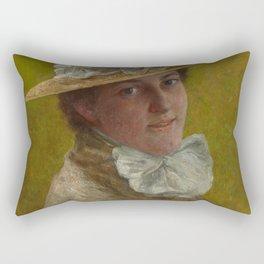 John O. Adams - The Widow, Munich Rectangular Pillow