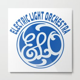ELO - ELECTRIC LIGHT ORCHESTRA Metal Print