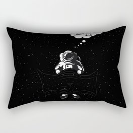 Space dreams Rectangular Pillow