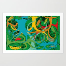 The Jungle of Mool Art Print