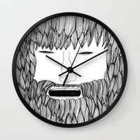 doodle Wall Clocks featuring Doodle by David