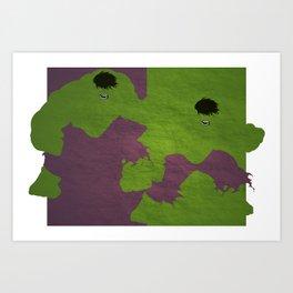 Hulk Art Print