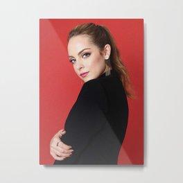 Elizabeth Gillies  ame Metal Print