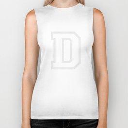 Letter D Biker Tank