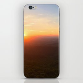 Blue Ridge Mountain Sunset iPhone Skin