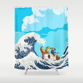 Link adventure Shower Curtain