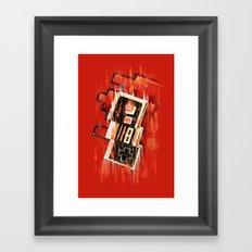 Blurry NES Framed Art Print