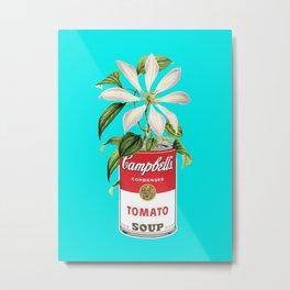 Floral & Campbell Metal Print