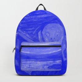 The Scream - Edvard Munch - Japanese Porcelain Concept Backpack
