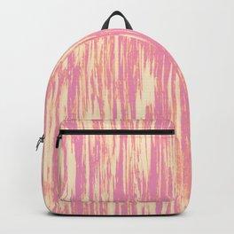 Ikat Streaks in Sherbet Backpack