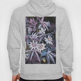 Temple of Flora Pastel Pink Blue Hoody