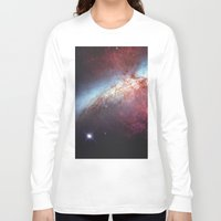 galaxy Long Sleeve T-shirts featuring Galaxy by fly fly away