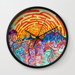 Little Creatures Wall Clock