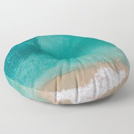 Beach and Sea Floor Pillow