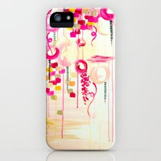 BALLOON LOVE Bubblegum POP! Beautiful Cheerful Bubbles Pretty Pink  Abstract Acrylic Painting Sky Slim Case iPhone (5, 5s)