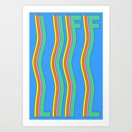 Life is Windy Art Print