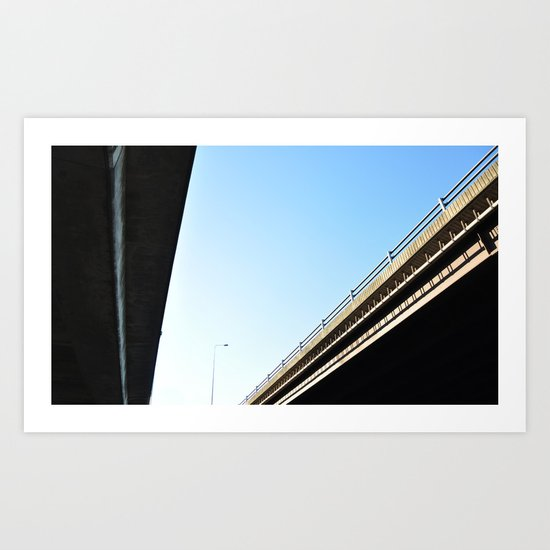Bridges Art Print