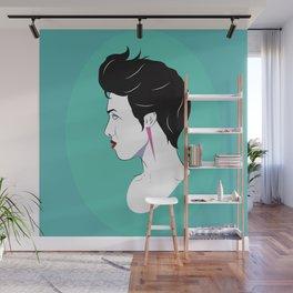 BianCamée Aqua Wall Mural