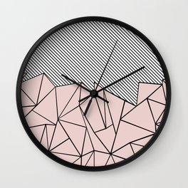 Ab Lines 45 Dogwood Wall Clock