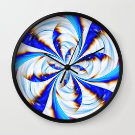 Fractal Artwork Wall Clock