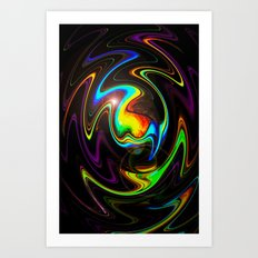 Abstract Perfection Art Print