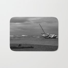 sunken boat Bath Mat