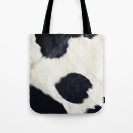Cow Skin Tote Bag