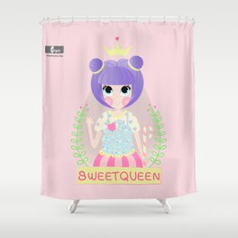 Candy queen Shower Curtain