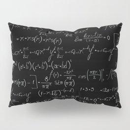 Chalk board mathematics pattern Pillow Sham