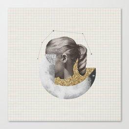 Constellation Girl Canvas Print