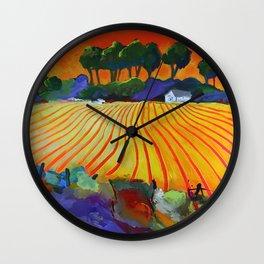 Growing Wild Wall Clock