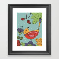 I like this place Framed Art Print